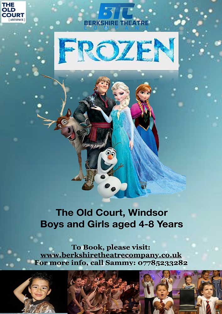 Junior Frozen – Summer Musical Theatre 3-Day Course