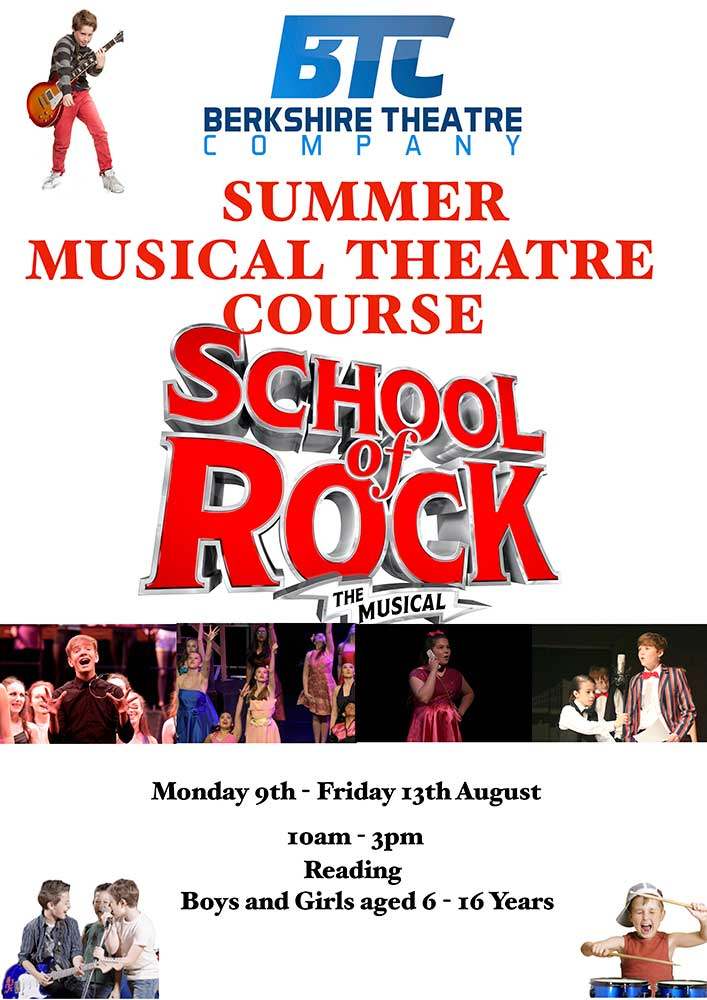 School of Rock – Summer Musical Theatre 5-Day Course