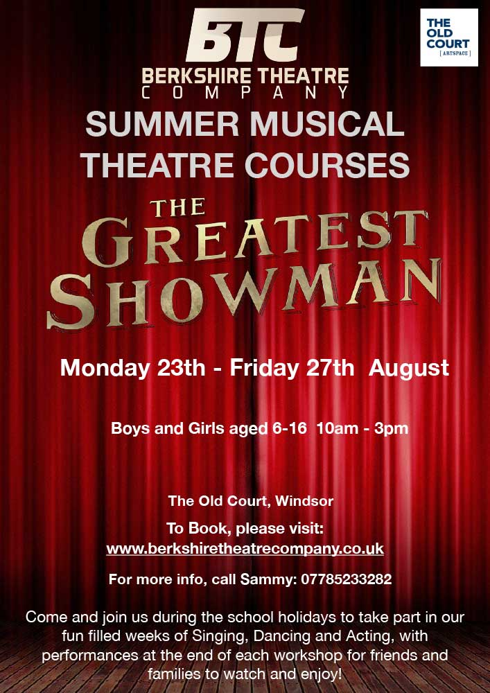 The Greatest Showman – Summer Musical Theatre 5-Day Course