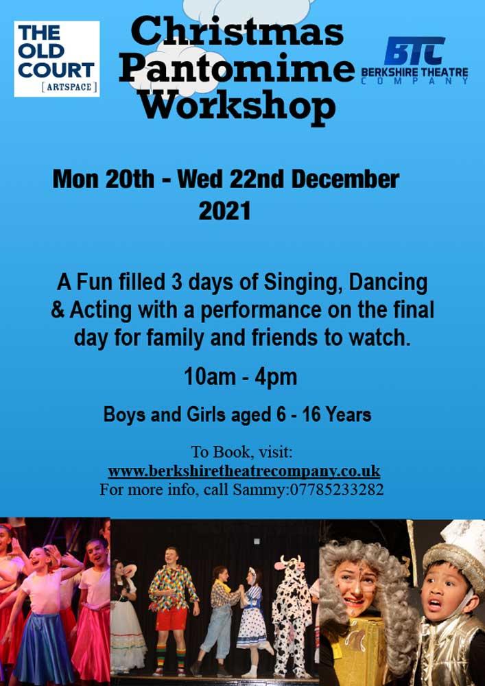 Christmas Pantomime Workshop 2021
