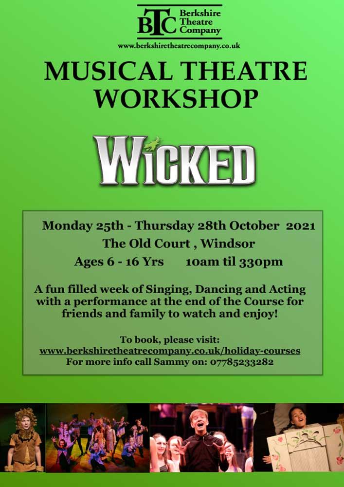 Wicked – October Half Term Workshop